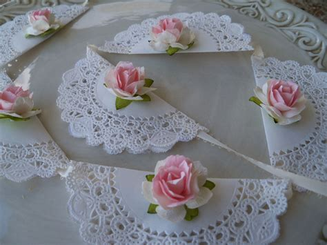 Shabby Chic Banner For Birthday Party By Jeanknee On Etsy