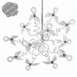 Ingo Maurer Birdie : ingo mauer birdie chandelier with transparent cables ~ Watch28wear.com Haus und Dekorationen