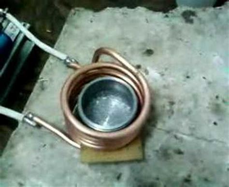 induction heating water boiling youtube