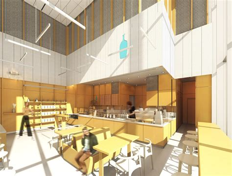 Blue bottle — which has stores in the bay area, new york, and tokyo — is adding the boston area. Designing Our World Trade Center Cafe   Blue Bottle