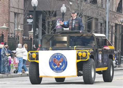 Pittsburgh Honors Veterans During Parade
