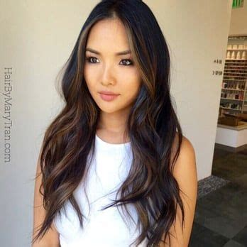 Japanese With Brown Hair by 25 Best Ideas About Asian Highlights On