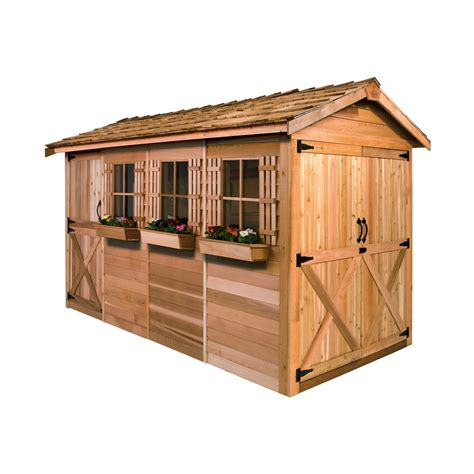 tool shed schenectady hours cedar shed bt boathouse shed lowe s canada
