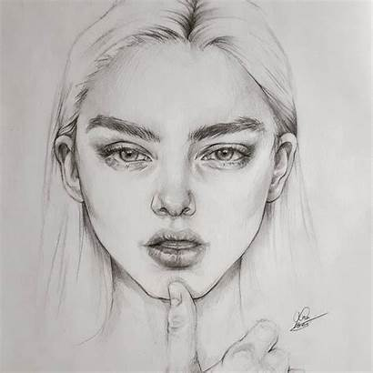 Pencil Expressive Portraits Sketch Sketches Designstack Portrait