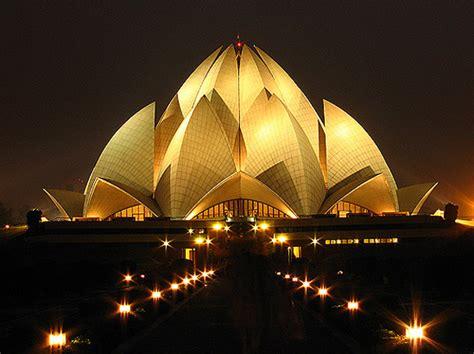 lotus temple delhi india places history information del