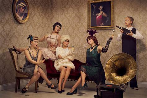 retro style party stock photo image  classic elegant