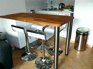 Conforama Table Bar : table haute cuisine st germaindubois ~ Teatrodelosmanantiales.com Idées de Décoration