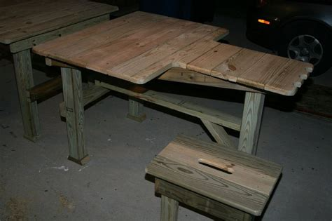 Portable Shooting Bench Building Plans Woodworking
