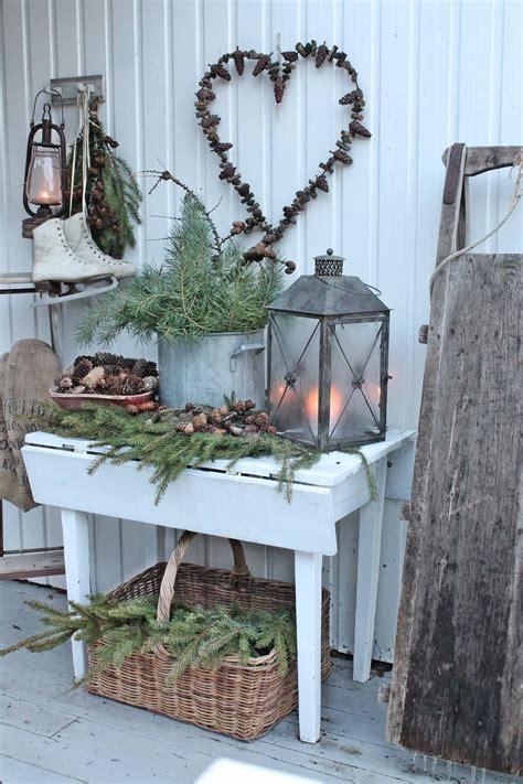 Weihnachtsdeko Für Den Garten Basteln by Skandinavisch Angehaucht Nette Deko F 252 R Drinnen Drau 223 En