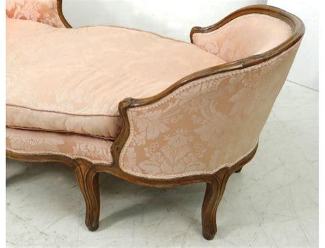 chaises louis xv chaise longue louis xv duchesse en bateau noyer sculpté