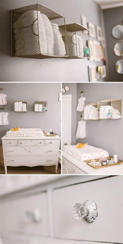 Ideen Organisation Kinderzimmer by Wickelbereich Baby Room Babyzimmer