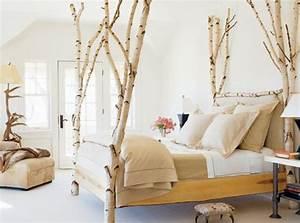 Deko Für Schlafzimmer : fantastische birkenstamm deko ~ Sanjose-hotels-ca.com Haus und Dekorationen