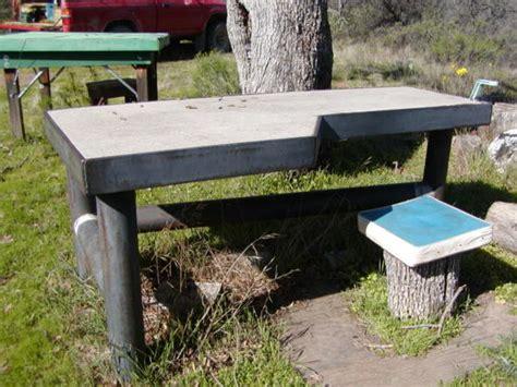 portable benchrest plans  woodworking