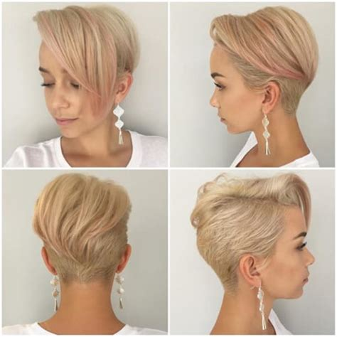 Different Hairstyles For Pixie Cuts by 66 Pixie Cuts For Thick Thin Hair Style Easily