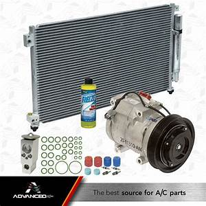 Ac A  C Kit Fits  2003 2004 2005 2006 2007 Honda Accord V6 3 0l Sohc 4 Door Only