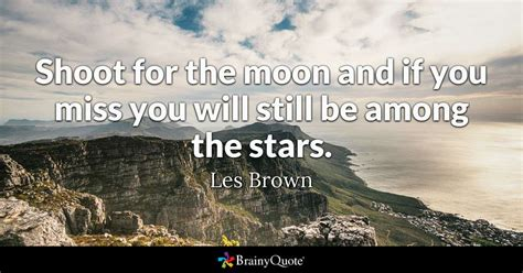 les brown shoot   moon
