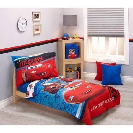 disney cars team lightening 4 toddler bedding set