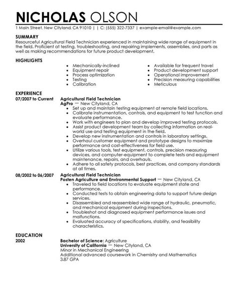 Resume Fields by Resume For Technician Bijeefopijburg Nl