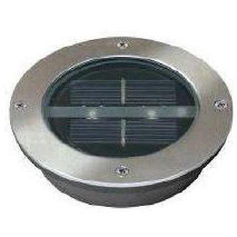 spot solaire encastrable rond 224 led lugo achat vente spot solaire encastrable soldes