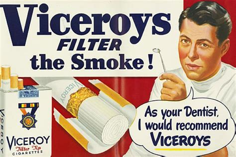 Cigarette Advertisements From