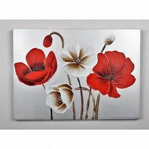tableau toile fleurs achat vente tableau toile fleurs With déco chambre bébé pas cher avec discount fleurs