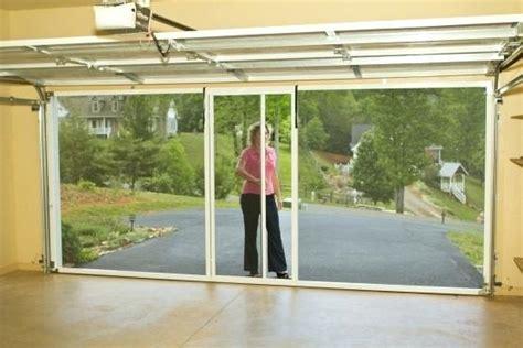 fireplace retractable garage door screens garage