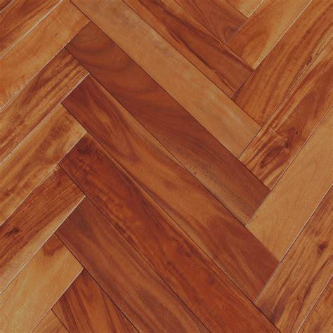 Acacia Golden Sagebrush Herringbone Hardwood Flooring
