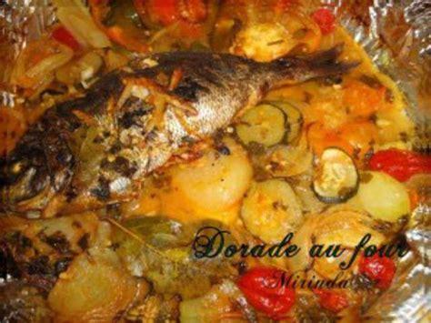 recette cuisine four recettes de dorade et cuisine au four