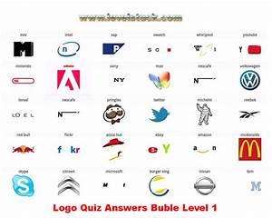 Logo Quiz Answers Level 1 2 3 4 5 6 7 8 Bubble Version ...