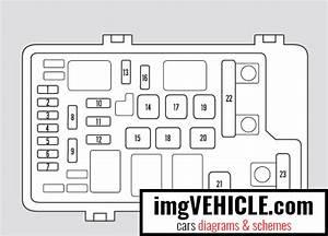 Honda Odyssey Iii Fuse Box Diagrams  U0026 Schemes