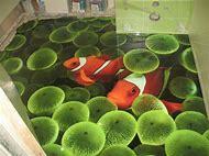 3D Bathroom Floor Epoxy Designs Fish