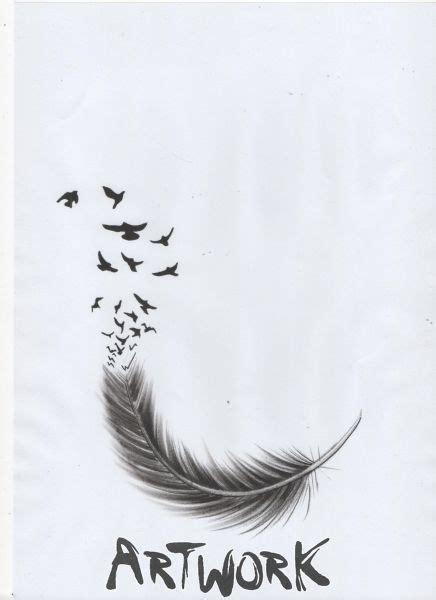 plume d oiseau dessin dessin de plume tatouage oiseaux plumes