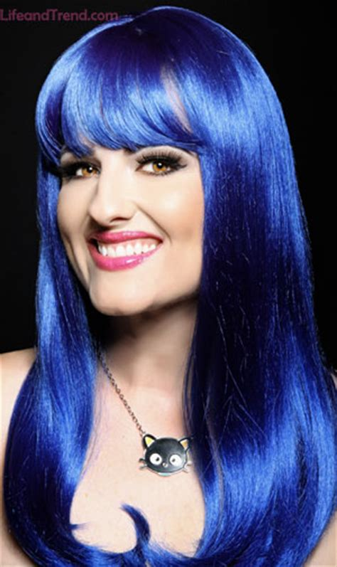 blue hair color  pictures