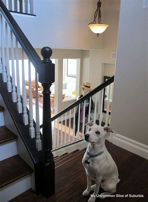 how to paint stair banisters best 25 painted stair railings ideas on