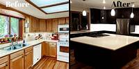 kitchen remodel before and after Kitchen Remodel Before And After | Rapflava