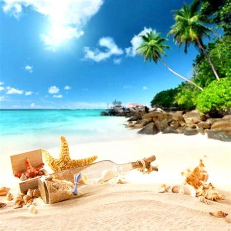 xft summer beach scene theme photography backdrop photo