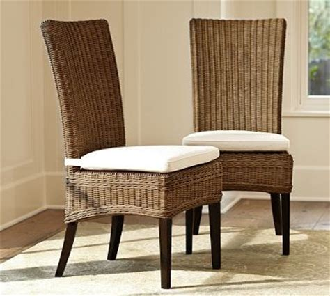 wicker kitchen furniture jacquelyne rattan wicker side chair traditional dining