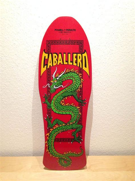 Powell Peralta Caballero Dragon, Red Dip, Green Dragon