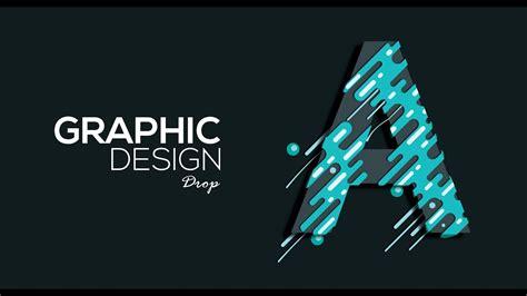 graphic design adobe illustratorphotoshop drop youtube