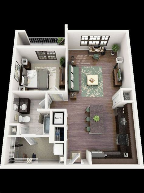 nice  comfortable planning   apartment