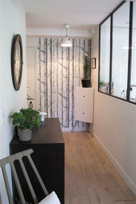 pin  au fil des couleurs  papier peint couloir