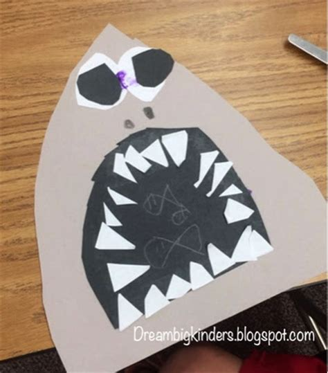 shark projects for preschoolers big kinders five for friday hungry 719