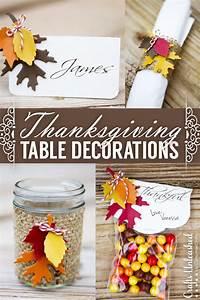 Thanksgiving, Table, Decor, Easy, U0026, Festive