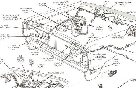 1993 Dodge Truck Dash Wiring Diagram by 1993 Dodge Diesel Wiring Harness Wiring Library