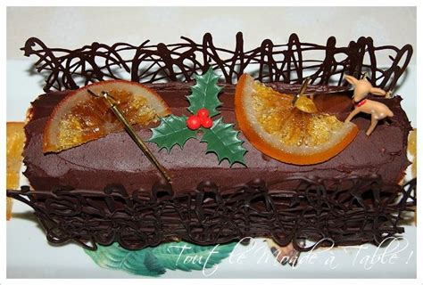 decor en chocolat pour noel b 251 che de no 235 l 224 l orange grand marnier et ganache chocolat noir tout le monde 224 table
