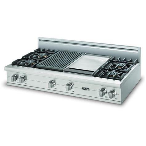 viking vgrt gq professional series natural gas cooktop