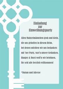 Nachbarn Schriftlich über Party Informieren : einweihungsparty einladung selber machen spr che und anleitungen ~ Frokenaadalensverden.com Haus und Dekorationen