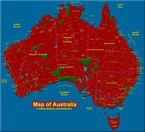map  australia  tasmania
