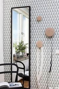 Peinture Argentée Spéciale Miroir : choisir un papier peint de couloir original ~ Dailycaller-alerts.com Idées de Décoration