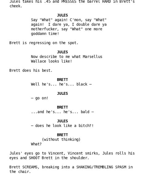Script Template by This Is An Exle Of A Script Writing Was Never My